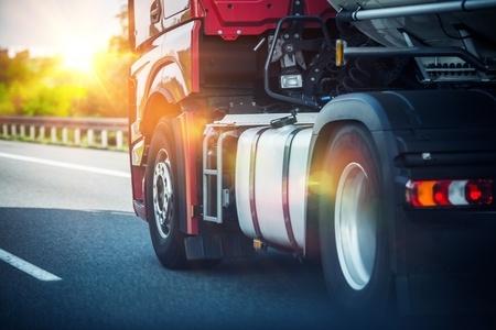 Semi Truck on Road | Marietta Wrecker Service