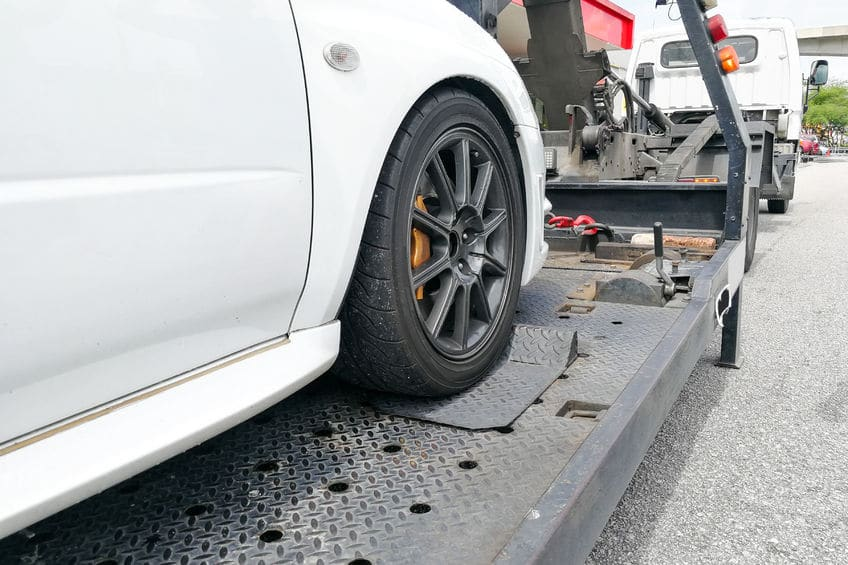 Broken Down Car Being Towed | Marietta Wrecker