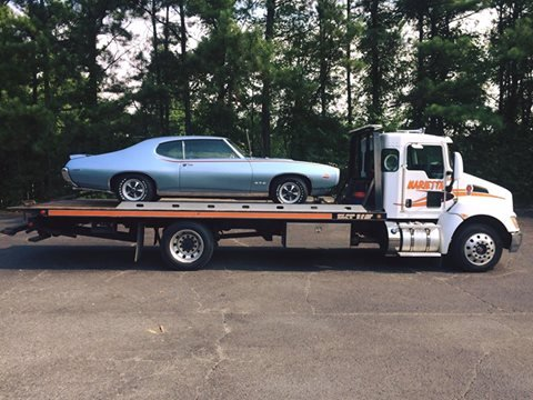 Prepare Car for Tow | Marietta Wrecker Service