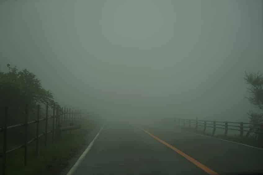 Foggy Road Fall Safety Tips | Marietta Wrecker Service