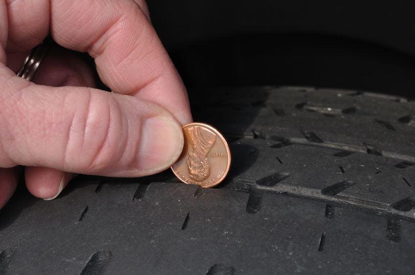 Tire Penny Trick   Marietta Wrecker Service
