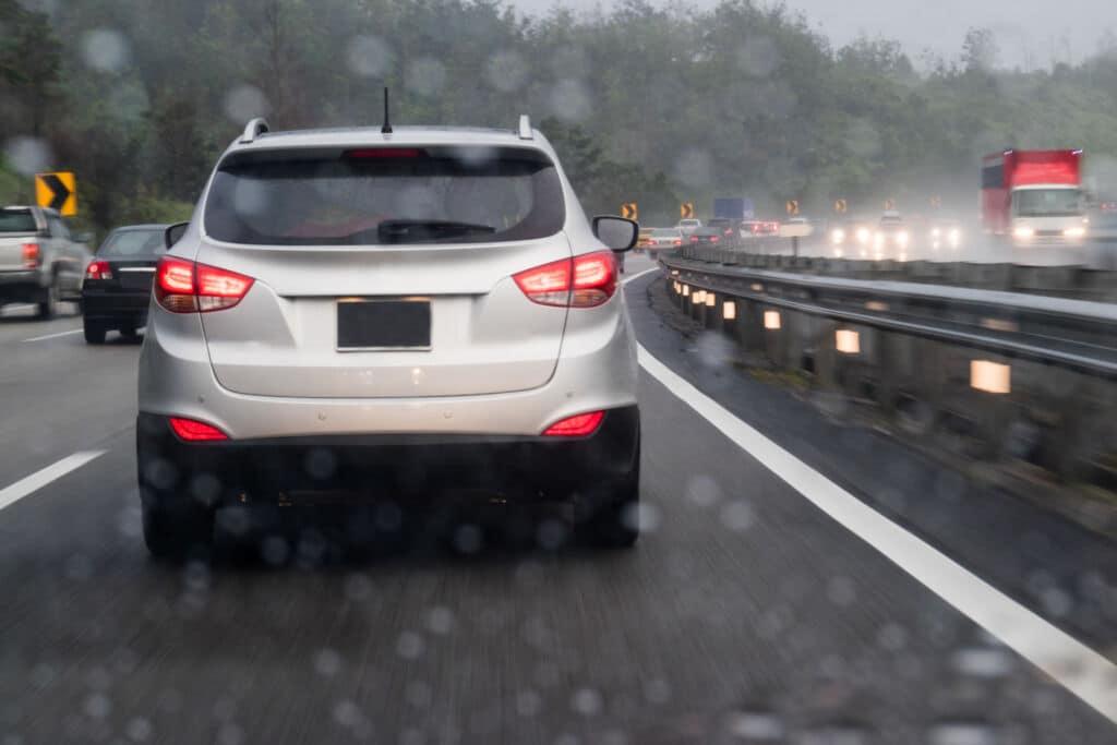 Driving In Rain | Marietta Wrecker Service