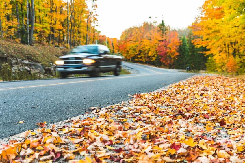 Fall Driving Tips | Marietta Wrecker Service
