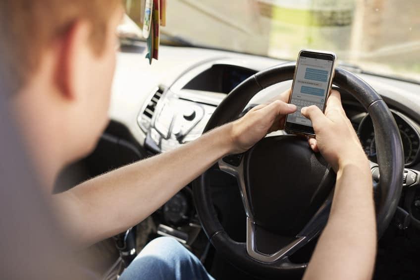 Distracted Driving In Georgia | Marietta Wrecker