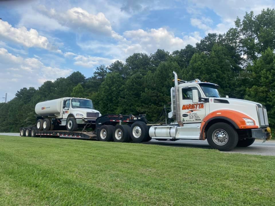 Heavy Duty Towing In Atlanta | Marietta Wrecker